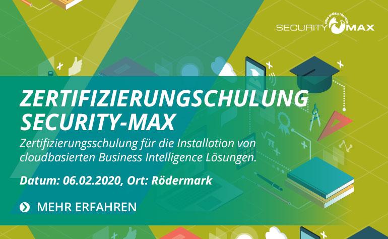 Security-Max Zertifizierungsschulung
