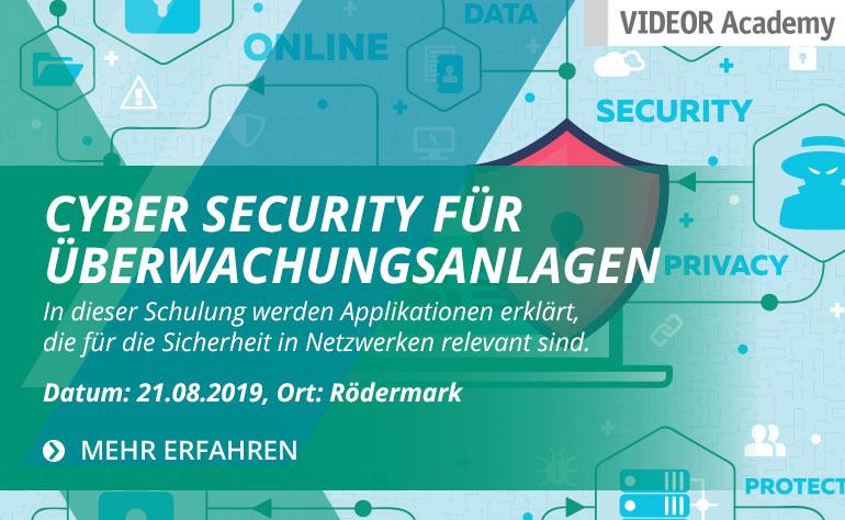 Cyber Security für Überwachungsanlagen