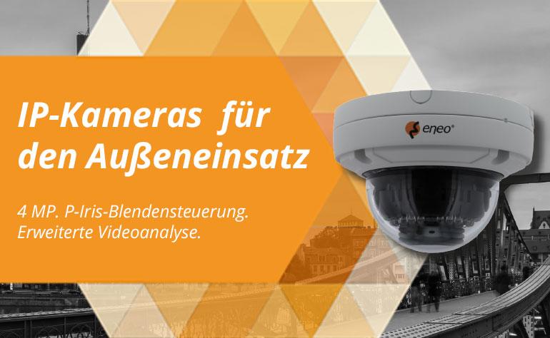 eneo 4-Megapixel-IP-Kameras