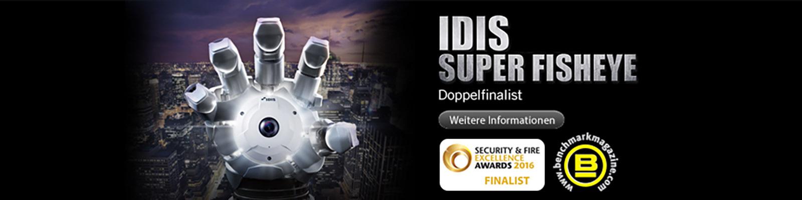 IDIS super Fisheye