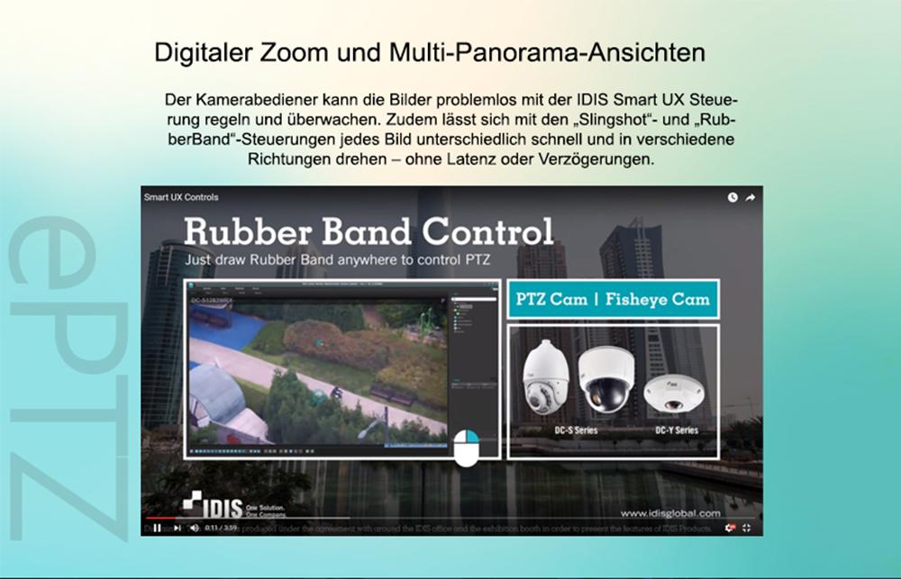IDIS Rubber Band Control
