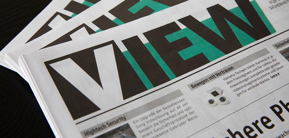 Kundenzeitung VIEW