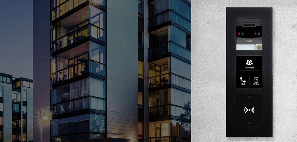 Zugangskontrolle für Wohnhäuser, Zutrittskontrolle für Bürogebäude: 2N
