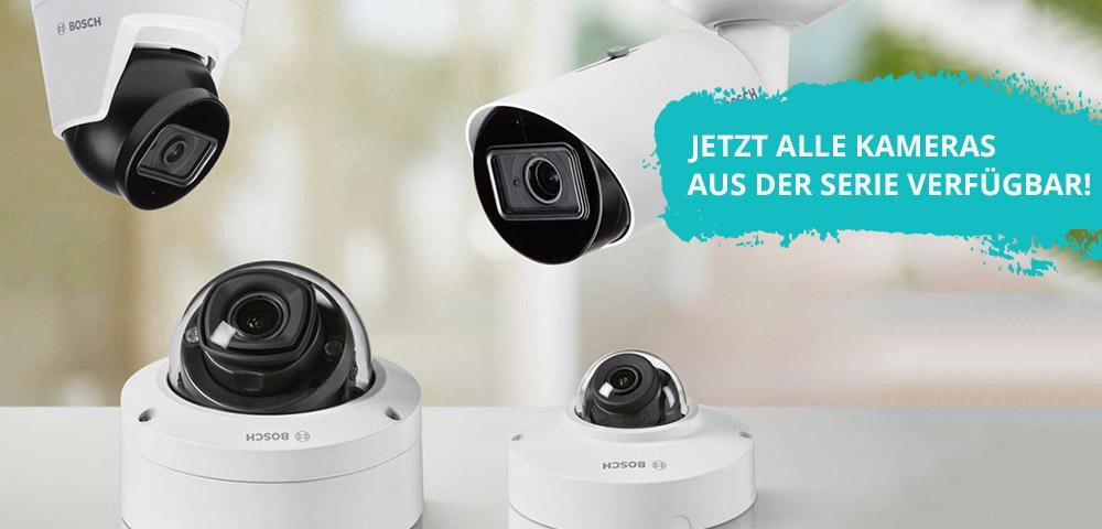 Bosch IP 3000i Kameras - 5 Megapixel zum Preis von 2 Megapixeln