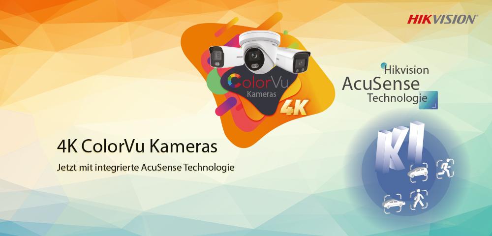 Hikvision 4K ColorVu: Farbige Bilder bei Dunkelheit