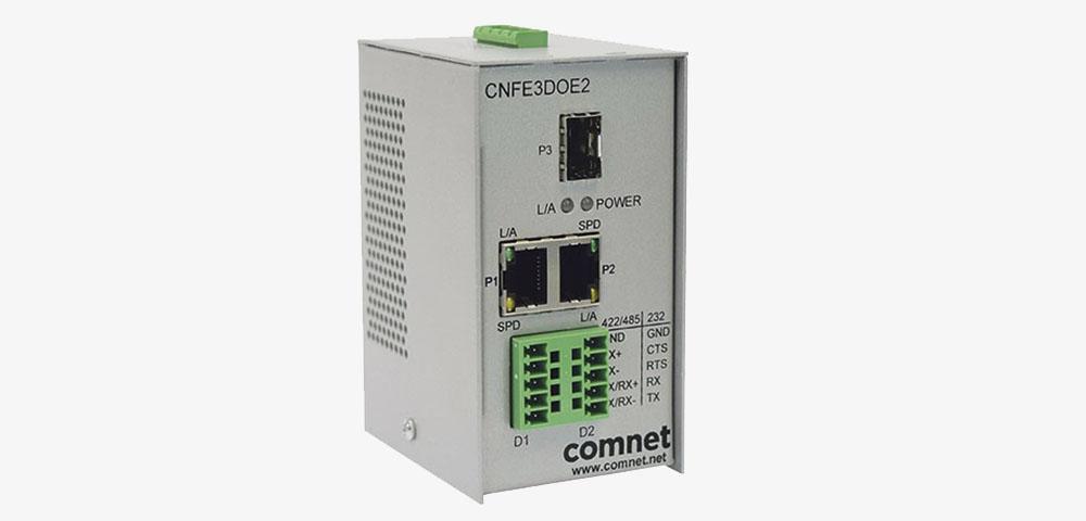 Comnet: Neuer serieller Daten-zu- Ethernet-Terminal-Server