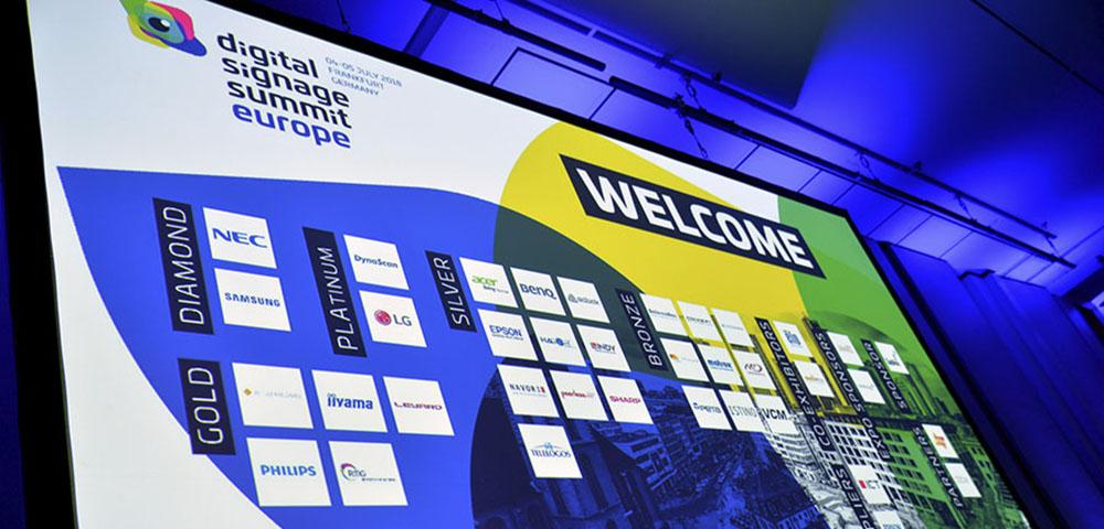 Digital Signage Summit Europe 2018