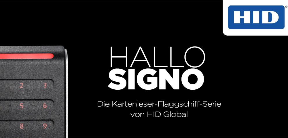 HID Signo-Lesegeräte: Zutrittskontrolle neu gedacht