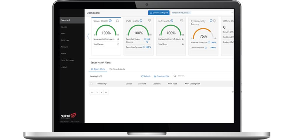 Demnächst erhältlich: Razberi Monitor™ – Die neue Cloud-basierte Plattform von ComNet