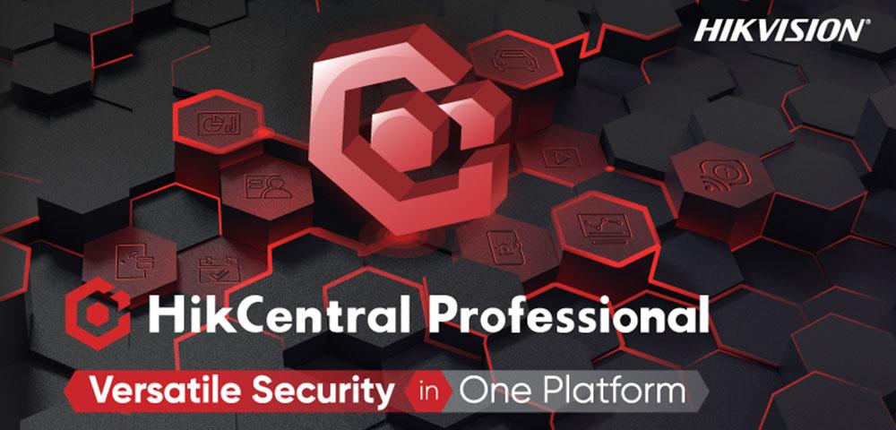 HikCentral Professional: Flexible Sicherheit auf einer Plattform