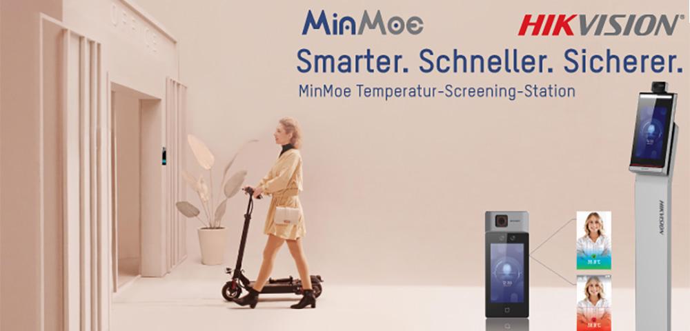 MinMoe – Berührungslose und genaue Temperaturmessung zur Selbstkontrolle