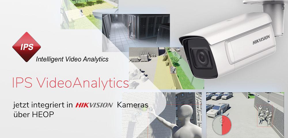 IPS Videoanalyse für jedes Einsatzgebiet