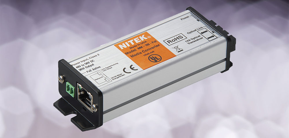 Die neuen Glasfaser-Medienkonverter von Nitek sind da!