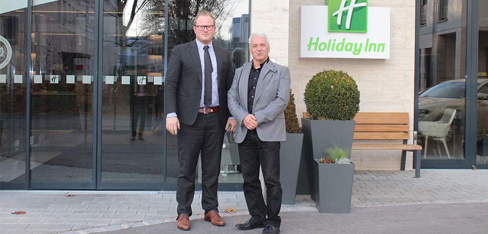 Holiday Inn Munich: increased security with eneo, perfect service