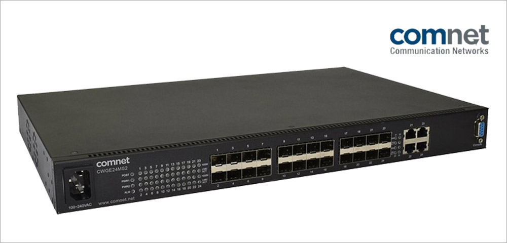 ComNet CWGE24MS2: SFP-Switch der nächsten Generation