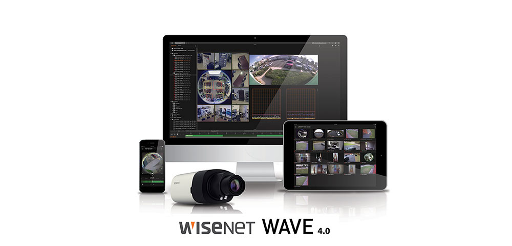 Wisenet WAVE 4.0: Intuitive Videomanagement-Software