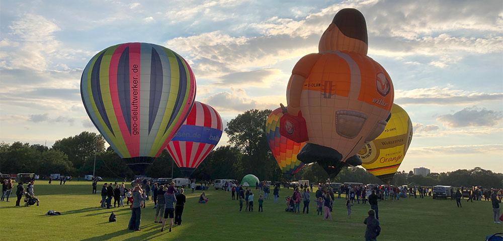 AG Neovo: Balloon Sail ins beste Bild gerückt