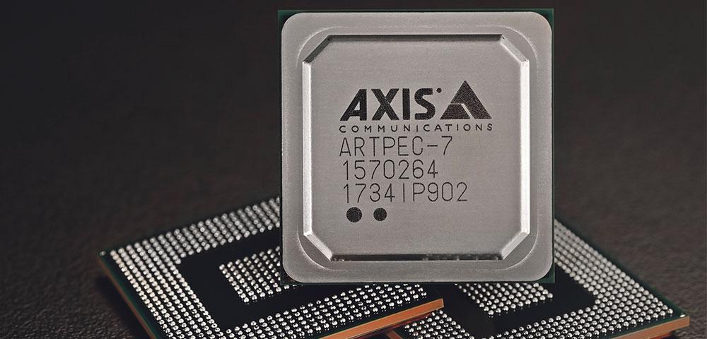 Axis: Neue ARTPEC-Chips für Axis IP-Kameras