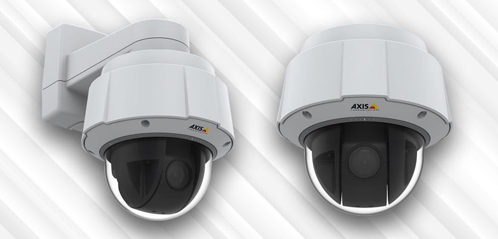 Axis: Überarbeitete AXIS Q60-Serie