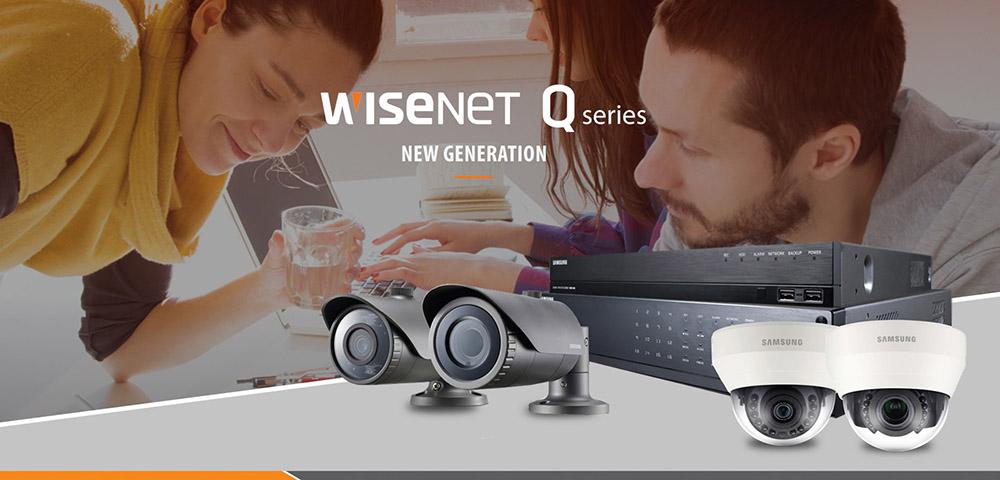 Wisenet Q-Serie setzt neue Maßstäbe