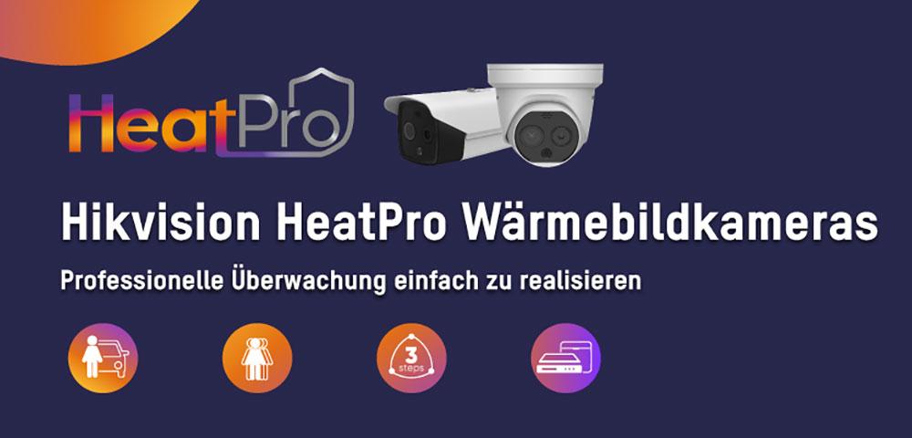 Hikvision HeatPro: Professionelle Überwachung mit Wärmebildkameras, einfach realisiert
