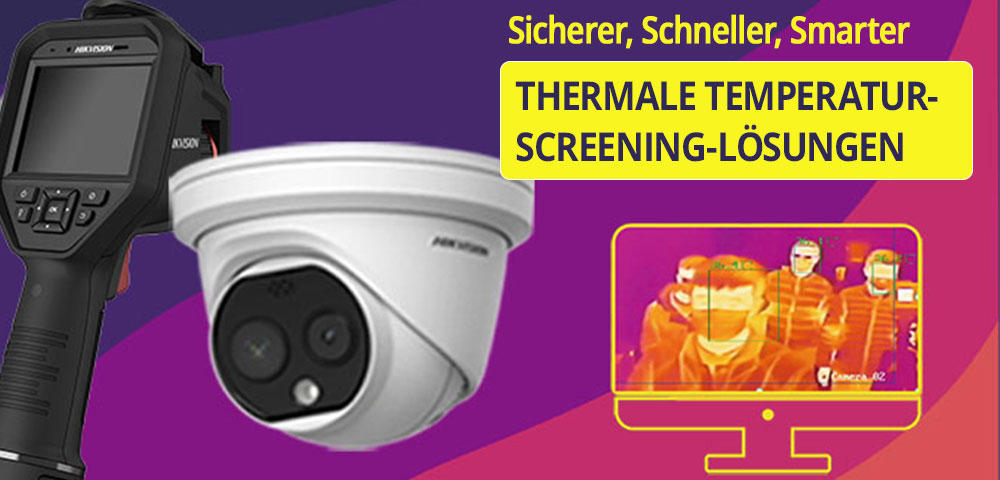 Hikvision: Thermales Temperatur-Screening