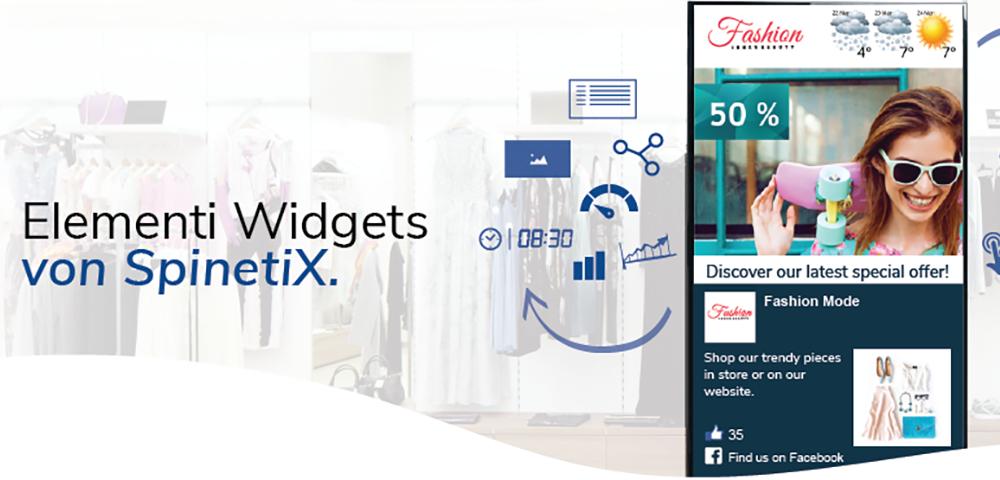 Elementi Widgets von SpinetiX