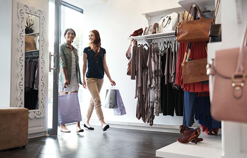 Einkaufserlebnis verbessern Retail