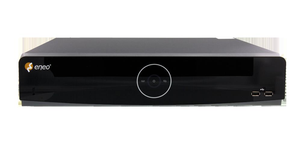 eneo IER NVR mit 8-Megapixel-Auflösung und H.264/H.265-Unterstützung