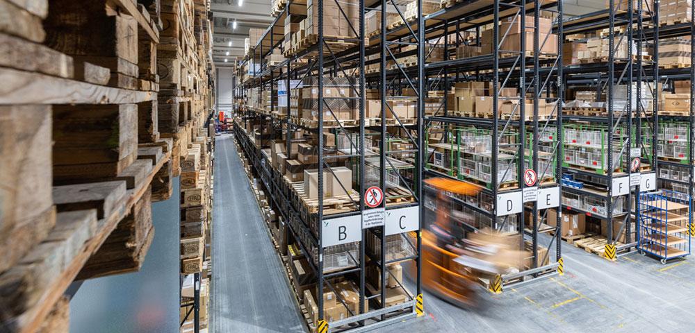 Logistiklösungen von VIDEOR